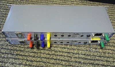 Two Audio Developments Power Units +5 +12 -12 +48 Volts For Mixer & Mic Pre Amps