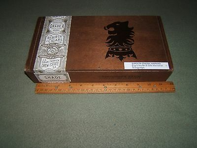 Drew Estate Cigar Wood Box Undercrown Shade Robusto
