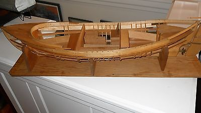 """Vintage Maritime WWII Lifeboat Whale Boat Model 33"""""""