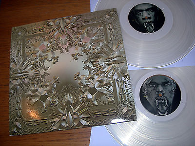 JAY-Z & KANYE WEST - WATCH THE THRONE - Clear Vinyl Double LP