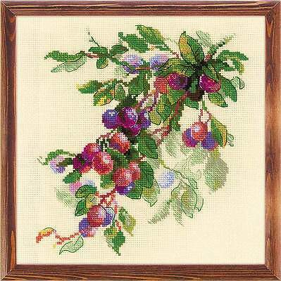 """Counted Cross Stitch Kit RIOLIS 1616 - """"Branch of Plum"""""""