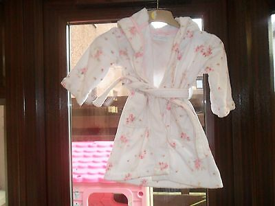 the little white company dressing gown age 2-3 years