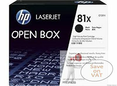 Cf281X 81X Hp Black New Genuine Or1Ginal Laser Toner Cartridge Open Box Rebox