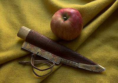 Knife. Viking Age. Reconstruction of the find of on the island of Birka. OOAK
