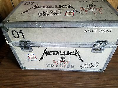 Metallica boxed set VHS tapes from live binge and purge