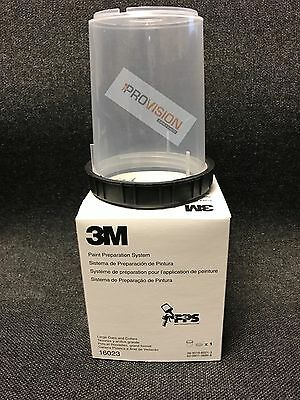 PPS Mixing Cups and Collars box of 1 3M Company 16023 3MP Large