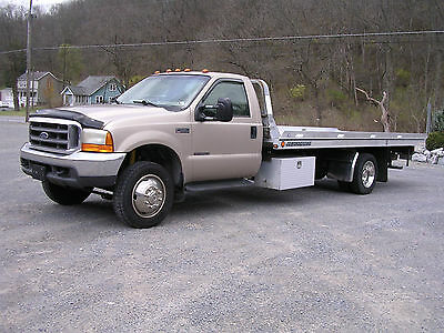 1999 Ford F-550 Lariat  FORD F-550 LARIAT ROLL BACK with JERR-DAN ALUMINUM BED
