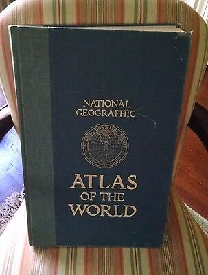 National Geographic Atlas of the World 1981 Fifth Edition