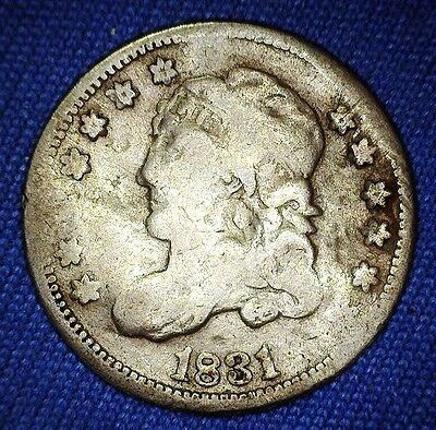 1831 Capped Bust Dime -- 1 of 771,350 Minted