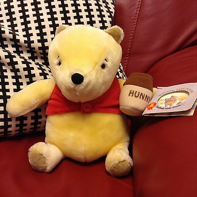 Classic Winnie the Pooh Plush CUDDLY TOY WITH TAG