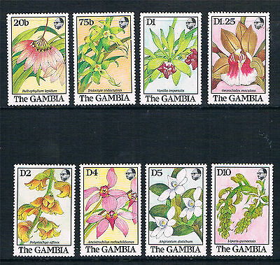 Gambia 1989 Orchids SG 960/7 MNH