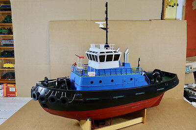 GRAUPNER RADIO CONTROLLE MONSTER TUG BOAT VOITH-SCHNEIDER drive UNITS ni