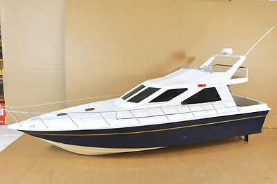RADIO CONTROLLED GRAUPNER SEA COMMANDER WATER COOLED ELECTRIC SPEED BOAT ni