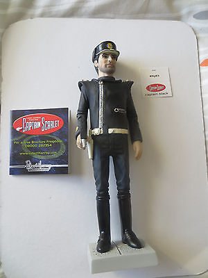 Robert Harrop / Captain Scarlet - Captain Black Figure Csf02 Brand New