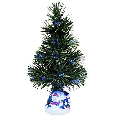 Evelots Color Changing Fiber Optic Christmas Tree,Multi Color Holiday Decoration