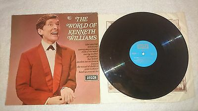 """Decca records """"the world of kenneth williams"""""""
