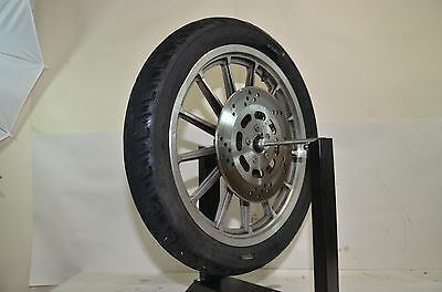 Harley Davidson Sportster XLH883 1999 Front Wheel Rotor and Tire
