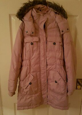 """***look*** Lovely girls """"Next"""" winter coat age 9-10 years old"""