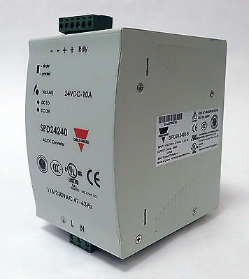 Carlo Gavazzi Spd242401B Switching Power Supply 24V 240W 10A Output