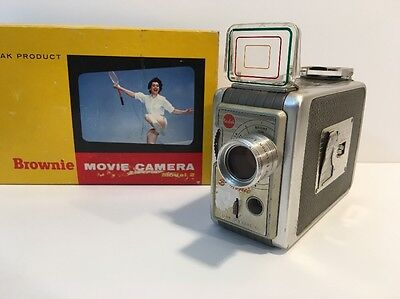 Kodak Brownie 8mm Model #2 Movie Camera 1950's Vintage