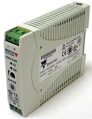 Carlo Gavazzi Spd1210 Single Phase Switching Power Supply 10W 12Vdc Spd12101