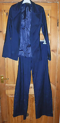 womans TOM WOLFE trousers size 10 jacket size 8