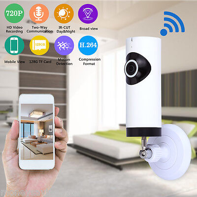 720P HD CCTV Wireless WiFi Network IP Camera Recorder Security Pet Baby Monitor