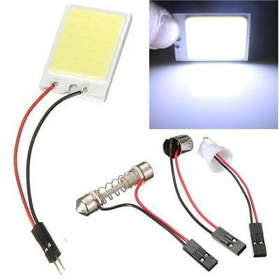 8W COB 24 Chip LED Car Interior Light T10 12V Panel light car light source Y4