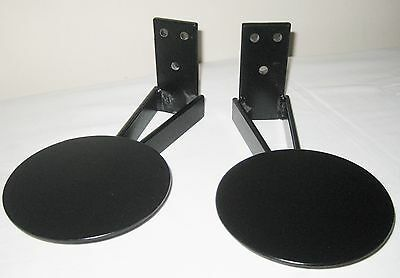 PAIR OF HI-FI AUDIO SPEAKER WALL BRACKETS in EXCELLENT CONDITION