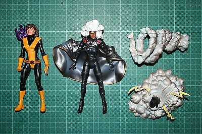 Marvel Legends Kitty Pryde Shadowcat Storm X-Men Lockhead Two Pack Loose