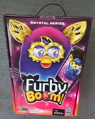 Furby Boom Crystal Series Pink Purple and Blue