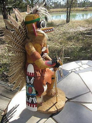Gilbert Ortega Bob Tubbs Hopi Kachina Doll $595 W/cert 1983 Collectors Award 18""