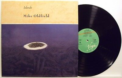 MIKE OLDFIELD-ISLANDS-RARE LP 33 g. 1987