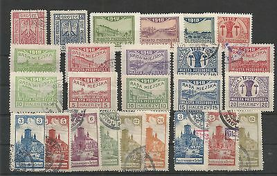 Poland, Locals Lot 3 Mh/used