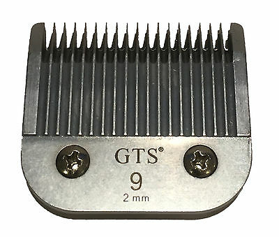 A5 clipper blades 2mm #9 Wahl, Andis, Aesculap, Moser, Oster, Liveryman