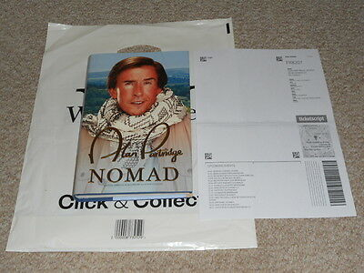 RARE!  1st Ed HB Book 'Nomad' Signed by Radio Broadcaster Alan Partridge