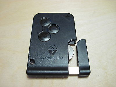 Renault Megane 2 / Scenic 2 Key Card 3 buttons (remote key)