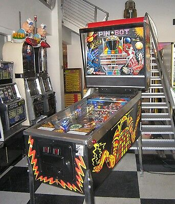Pin*bot Pinball Machine By Williams ~ Led Upgraded ~ Super Condition ~ $199 Ship