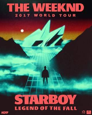 2 tix tickets The Weeknd Starboy World Tour Montreal MAY 30 2017 Centre Bell