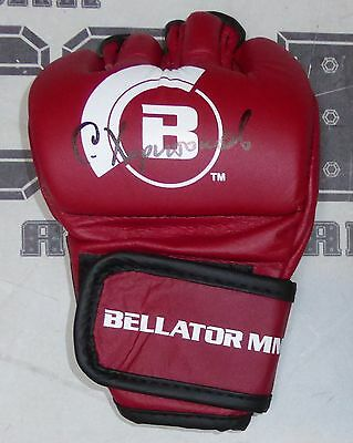 Sergei Kharitonov Signed Official Bellator MMA Red Fight Glove BAS COA Autograph