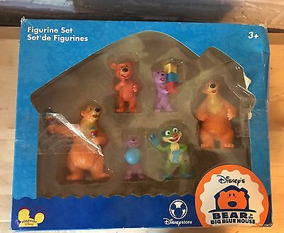 Bear In The Big Blue House PVC Figurine Set 6 Figures In Box