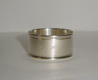 An Antique Sterling Silver Napkin Ring Chester 1912 Charles Horner