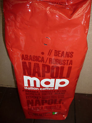 Map 1kg Napoli Coffee beans