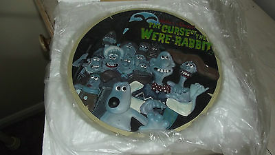 Wallace & Gromit Curse Of The Were Rabbit Collectors Plate New In Box