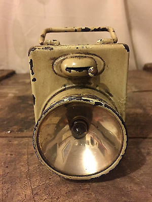 Ww2 Bicycle Lamp Light Battery Operated Circ 1942