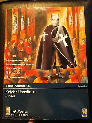"""Ignite 1/6 (12"""") Scale Time Silhouette Knight Hospitaller C. 1250"""