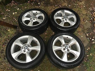Ford Jaguar S Type Alloys With Tyres 225/50/17  5x108