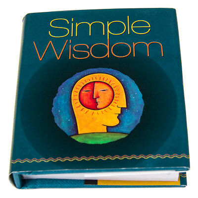 Simple Wisdom Mini Inspirational Book Self Help Literature & Philosophy Quotes