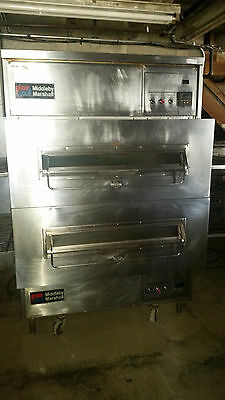 Middleby Marshall PS360WB Double Stack Conveyor Ovens Oven Natural Gas TESTED