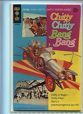 Chitty Chitty Bang Bang #1 Higher Grade Great Photo Cover Poster Included